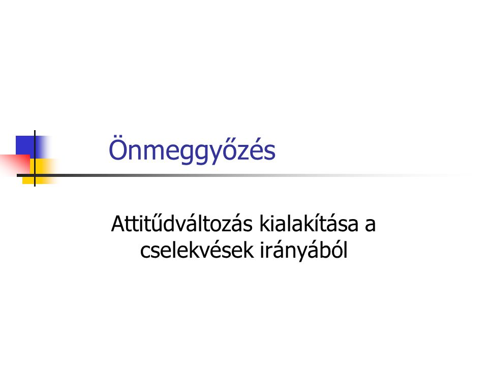 """Önmeggyőzés példa: Pall Mall SMS-kassza http://www.kreativ.hu/cikk.php?id=6358 Szabó Anikó: """"Felméréseink szerint a márka fogyasztóinak közel kétharmada csak alkalmilag választja a Pall Mall termékeket."""