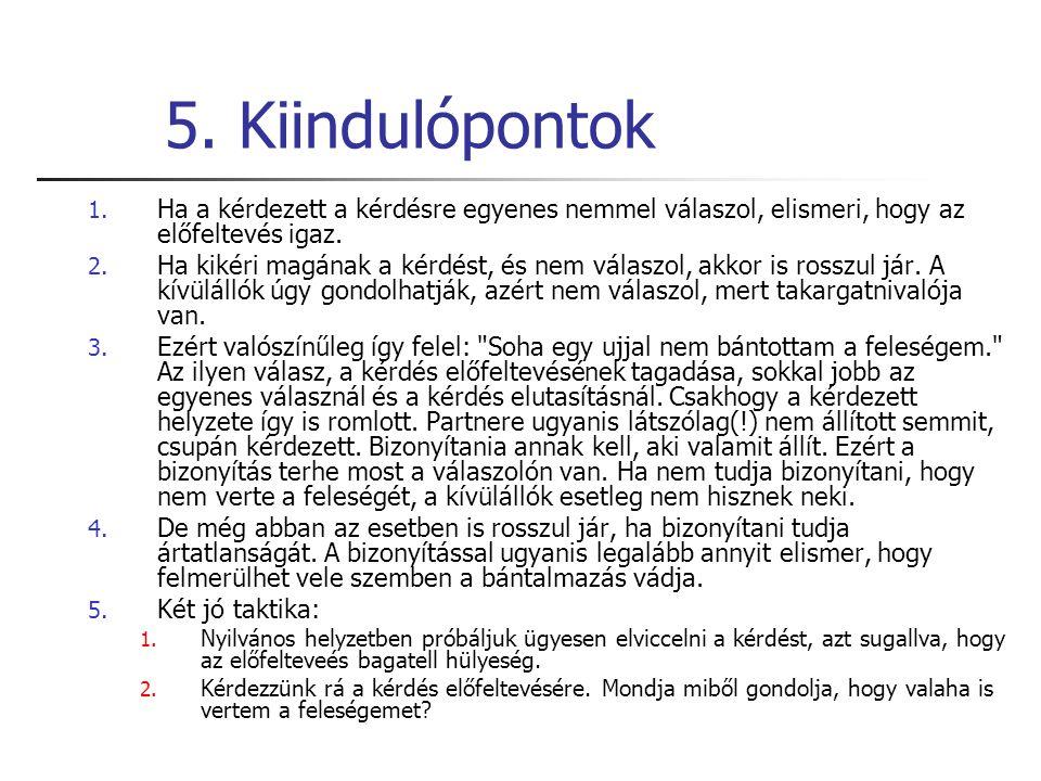 5.Kiindulópontok 1.