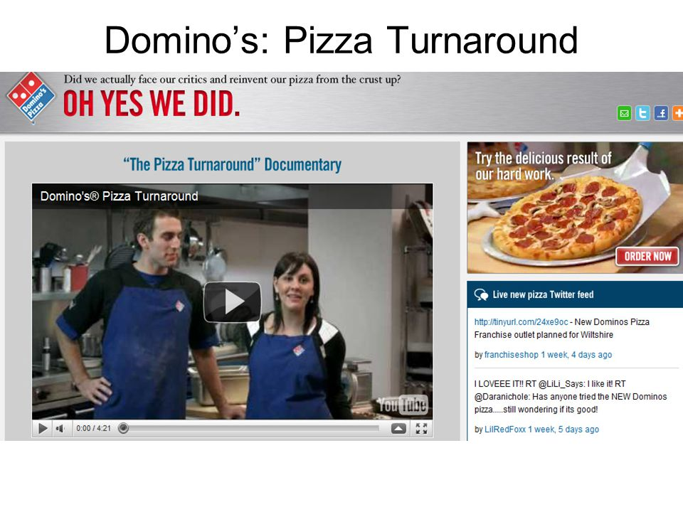 Domino's: Pizza Turnaround
