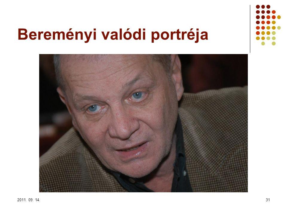 2011. 09. 14.31 Bereményi valódi portréja