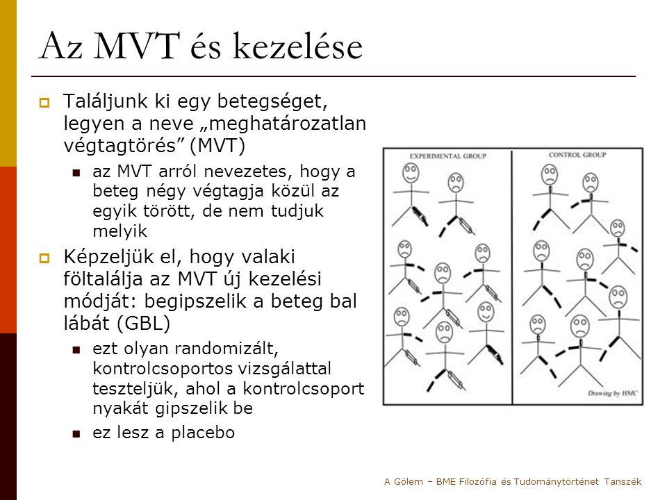 """Az MVT és kezelése  Találjunk ki egy betegséget, legyen a neve """"meghatározatlan végtagtörés"""" (MVT) az MVT arról nevezetes, hogy a beteg négy végtagja"""