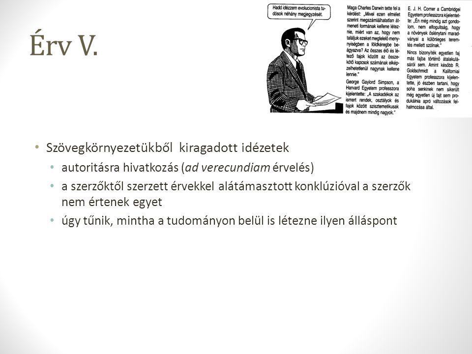 Érv V.