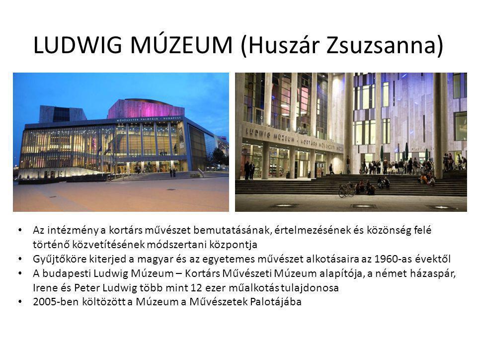 AZ ÉGBOLT MÁSIK FELE Kortárs Művészeti Múzeum - Válogatás a Ludwig Múzeum gyűjteményéből 2012.