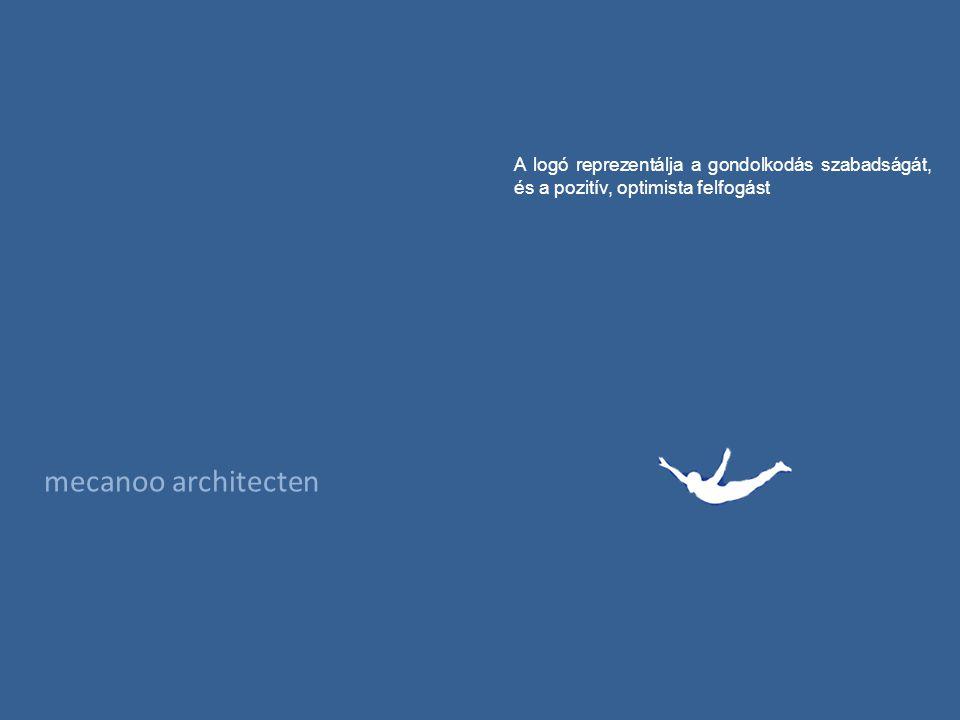 mecanoo architecten A logó reprezentálja a gondolkodás szabadságát, és a pozitív, optimista felfogást