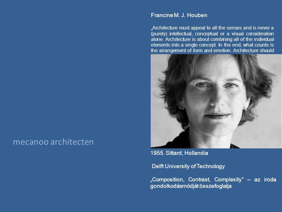 mecanoo architecten Francine M. J.