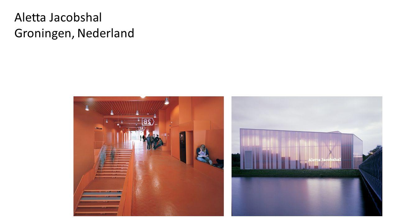 Aletta Jacobshal Groningen, Nederland
