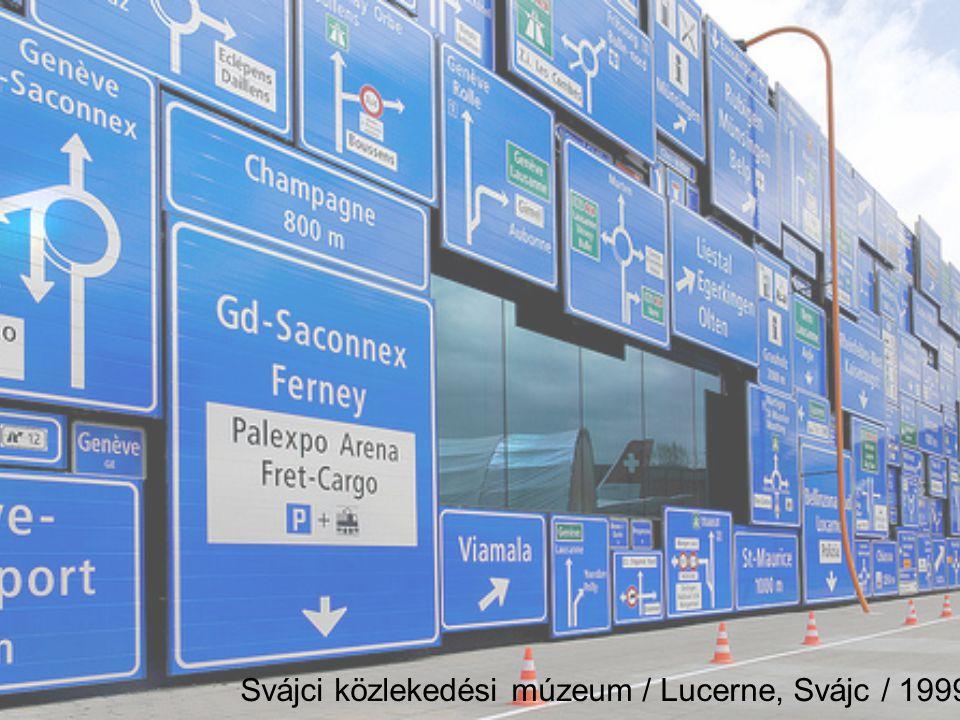 Svájci közlekedési múzeum / Lucerne, Svájc / 1999