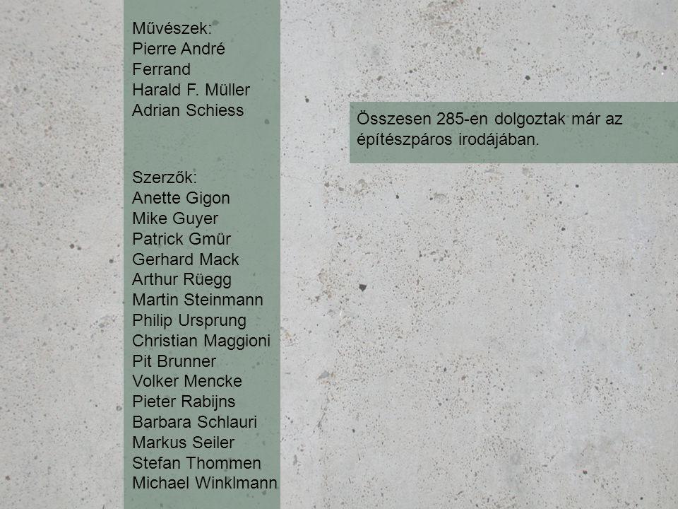 Művészek: Pierre André Ferrand Harald F.