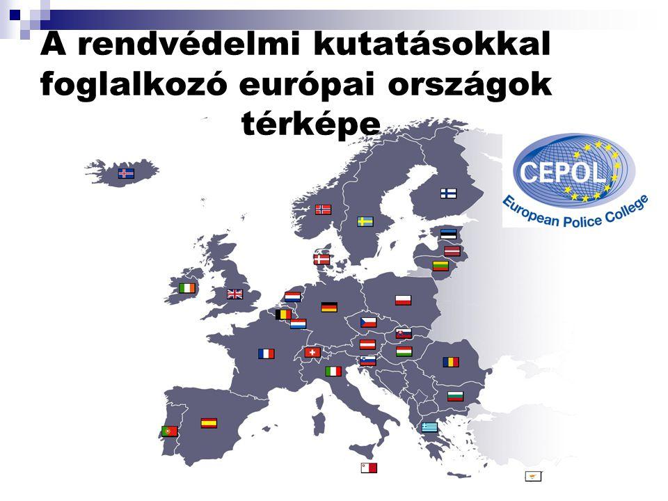 Az elmúlt évek során az alábbi tudományos munkák születtek: n A, - A rendészettudomány és a rendészettudományi kutatás az Európai Unióban (2003.) Megt