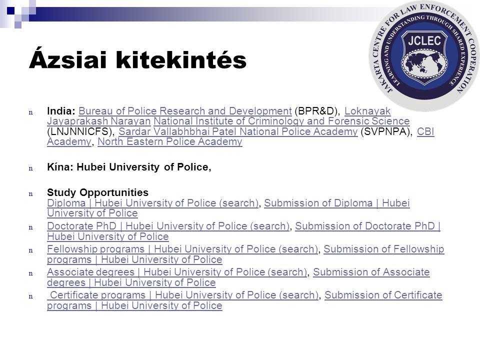 Rendőri Vezetők Kutatási Fóruma (PERF) n Szervezeti egységek: n Rendőri vezetői adatbázis (Executive Search) Rendőri vezetői adatbázis (Executive Sear