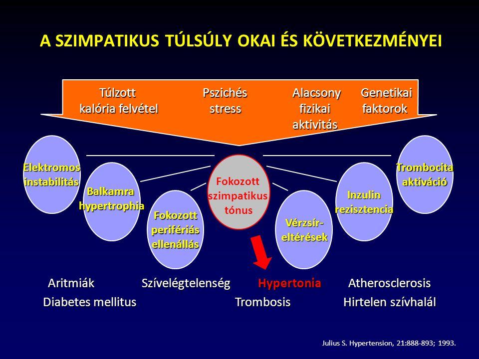 A RILMENIDIN 24 ÓRÁS VÉRNYOMÁSCSÖKKENTŐ HATÁSA Schwartz J.