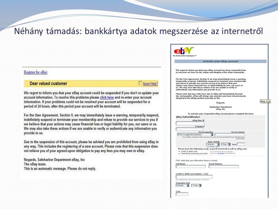 Néhány támadás: phishing magyar bankok ellen 7