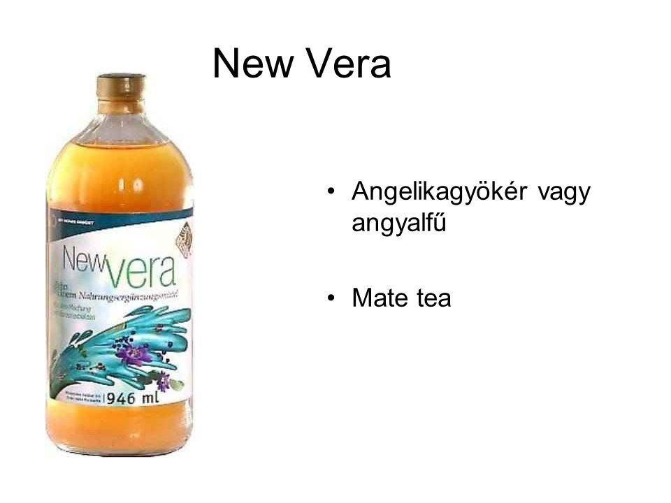 New Vera Angelikagyökér vagy angyalfű Mate tea