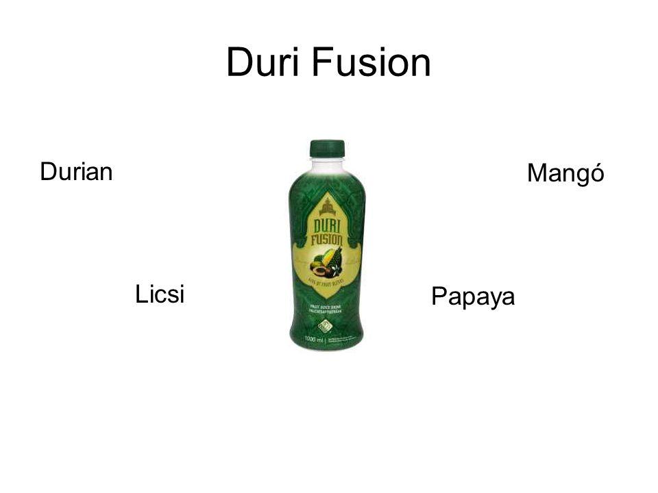 Duri Fusion Durian Licsi Mangó Papaya
