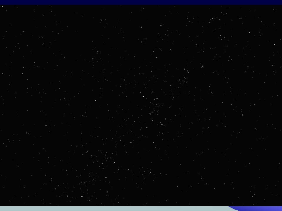 Csillagászat 4.33 Csillaghalmazok 2.Gömbhalmazok: Sok csillag, csillagközi anyag nélkül.