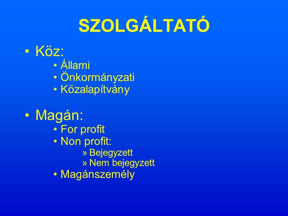 TÁRSADALMI SZOLGÁLTATÁS