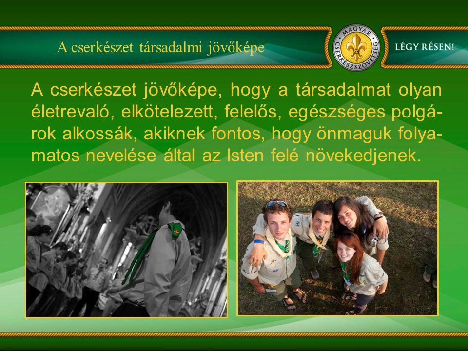 Küldetésünk önkénteseink által nem-formális nevelési eszközökkel (kis-közösségi nevelés) ifjúságnevelést végzünk (az egész ember fejlesztése) Magyarországon és a határon túli magyar lakta vidékeken (MCsSzF) helyi közösségekkel együttműködve 7 éves kortól