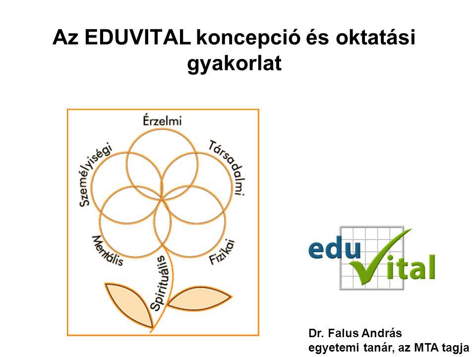Az EDUVITAL koncepció és oktatási gyakorlat Dr. Falus András egyetemi tanár, az MTA tagja