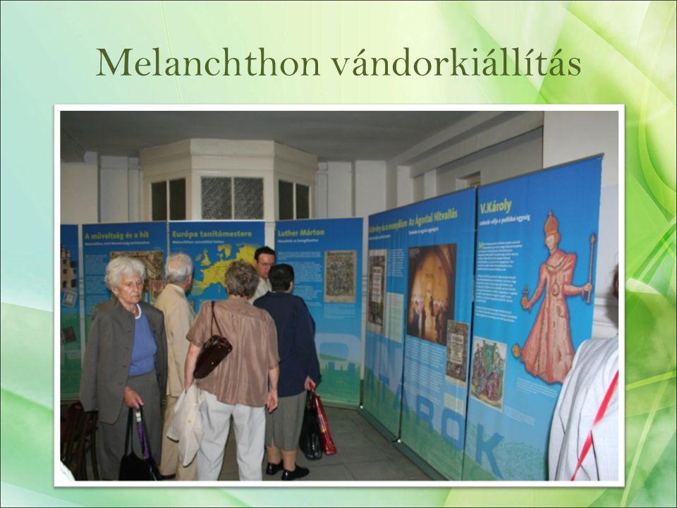 Melanchthon vándorkiállítás