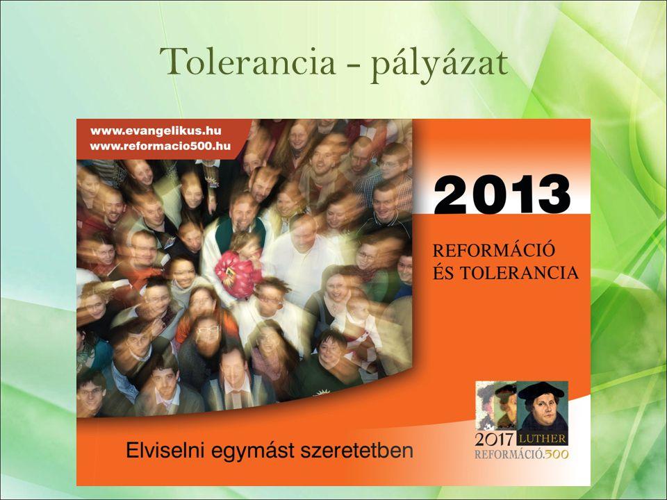 Tolerancia - pályázat