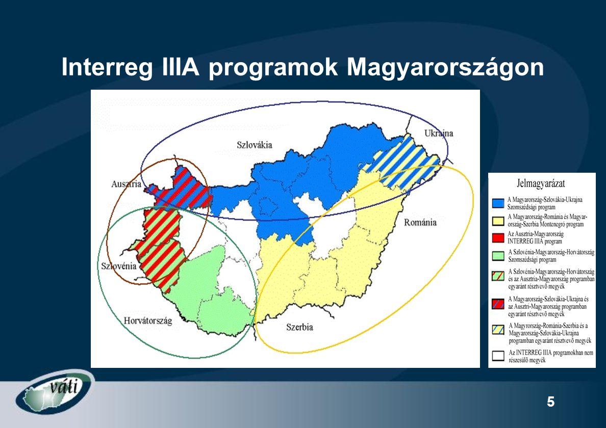 6 Az egyes programok helyzete ma (1) Ma/Ro/Sze-Mo Keret: 12,3 Mrd Ft ebből Mo-n: 7 Mrd Meghirdetés: 2005.02.16.