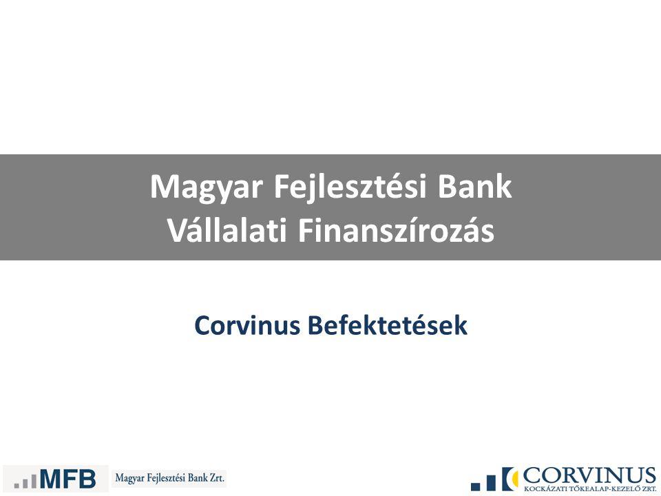 Magyar Fejlesztési Bank Vállalati Finanszírozás Corvinus Befektetések