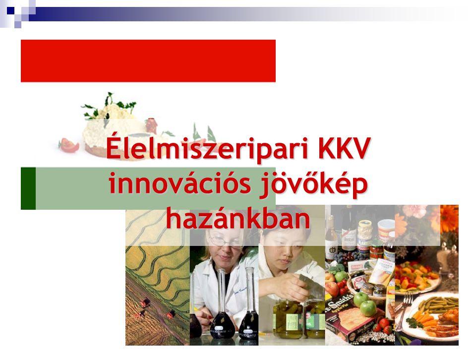Élelmiszeripari KKV innovációs jövőkép hazánkban
