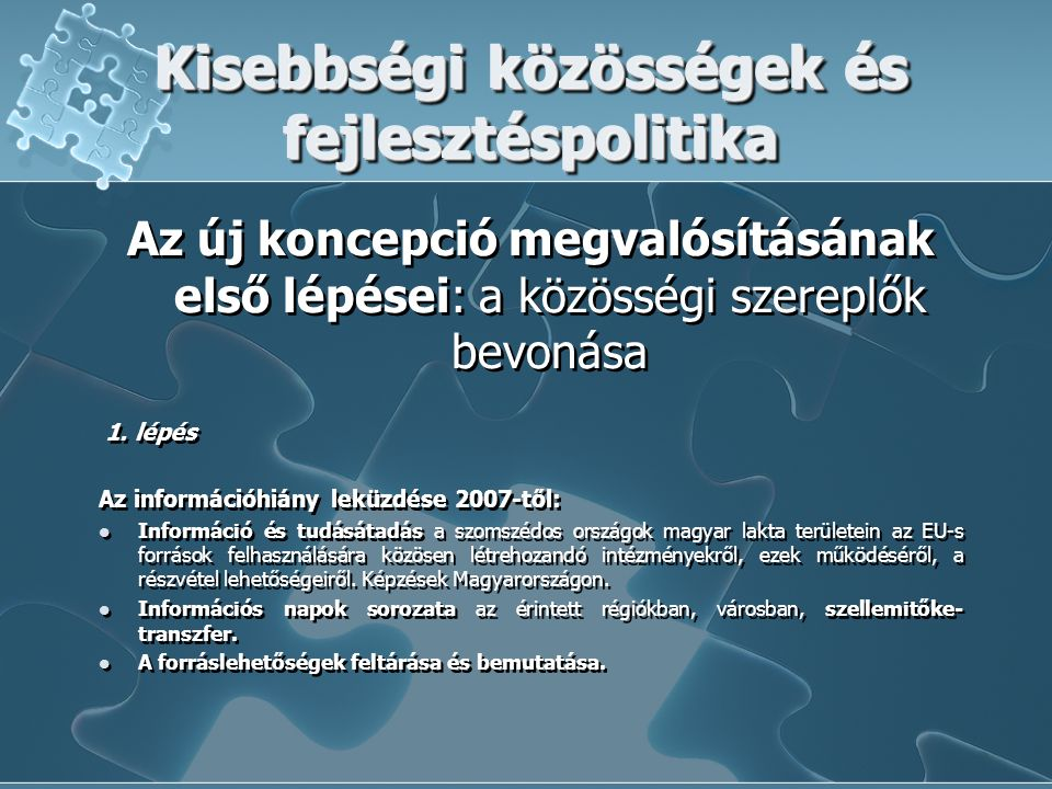 European Territorial Cooperation ETE jogosult programterület