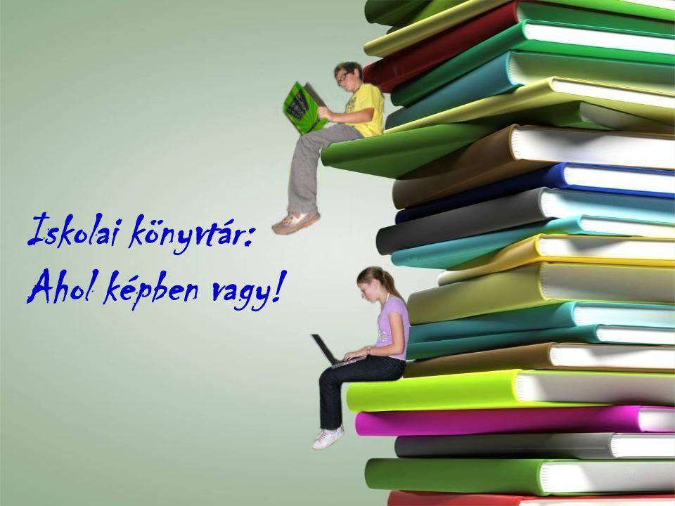 3 Iskolai könyvtár: Ahol képben vagy!