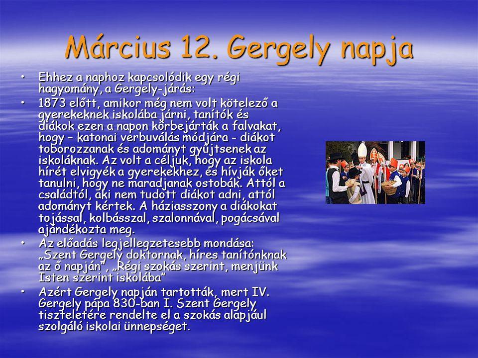 A magyar forradalom, és szabadságharc napja 1848 március 15.