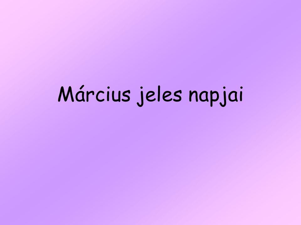 Március jeles napjai