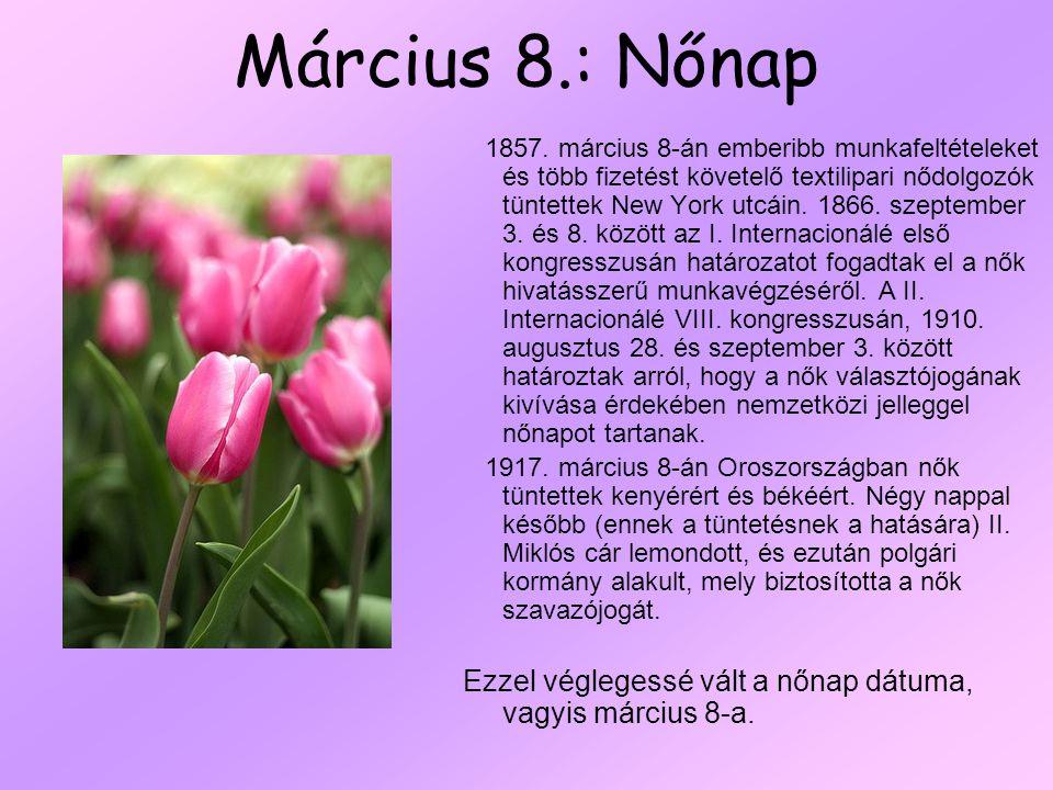Március 8.: Nőnap 1857.