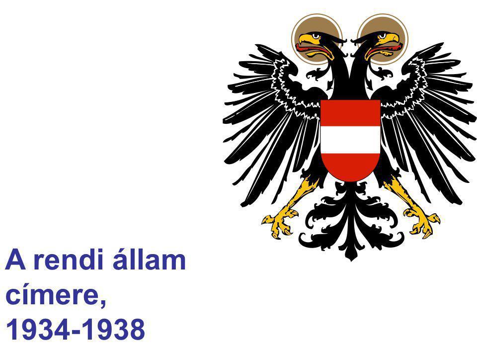 A rendi állam címere, 1934-1938
