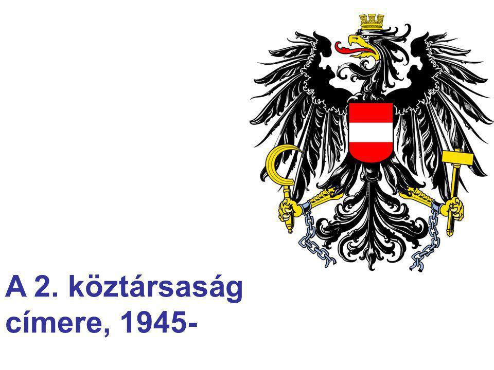 A 2. köztársaság címere, 1945-