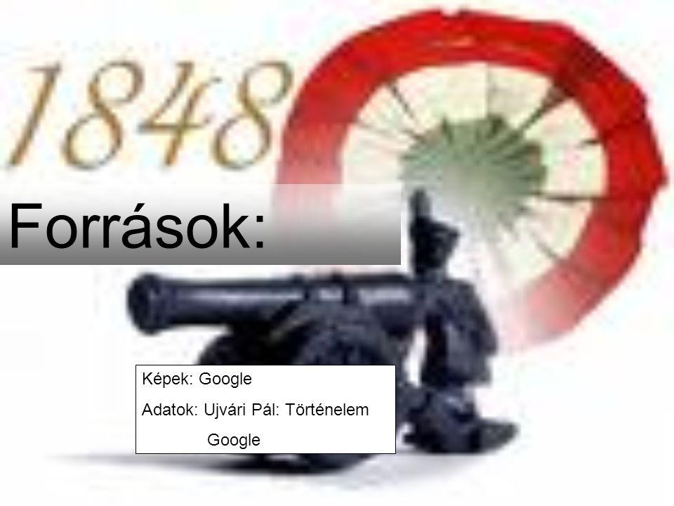 Források: Képek: Google Adatok: Ujvári Pál: Történelem Google