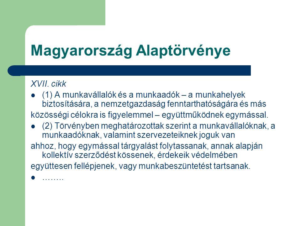 Magyarország Alaptörvénye XVII.