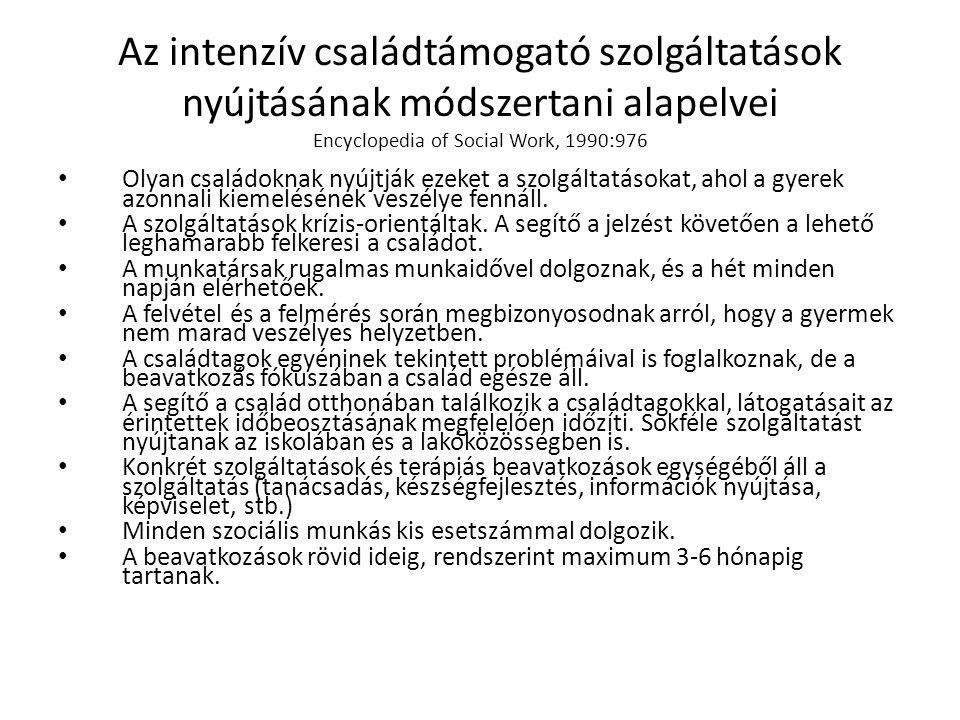 Intenzív családtámogató program 2009. július 1. – 2010. május 31. RÉV8, Magdolna Negyed Program II.