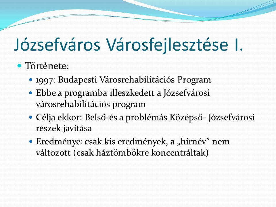 Józsefváros Városfejlesztése I.