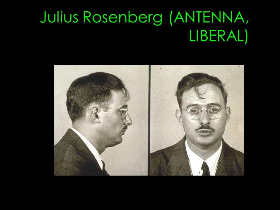 Julius Rosenberg (ANTENNA, LIBERAL)