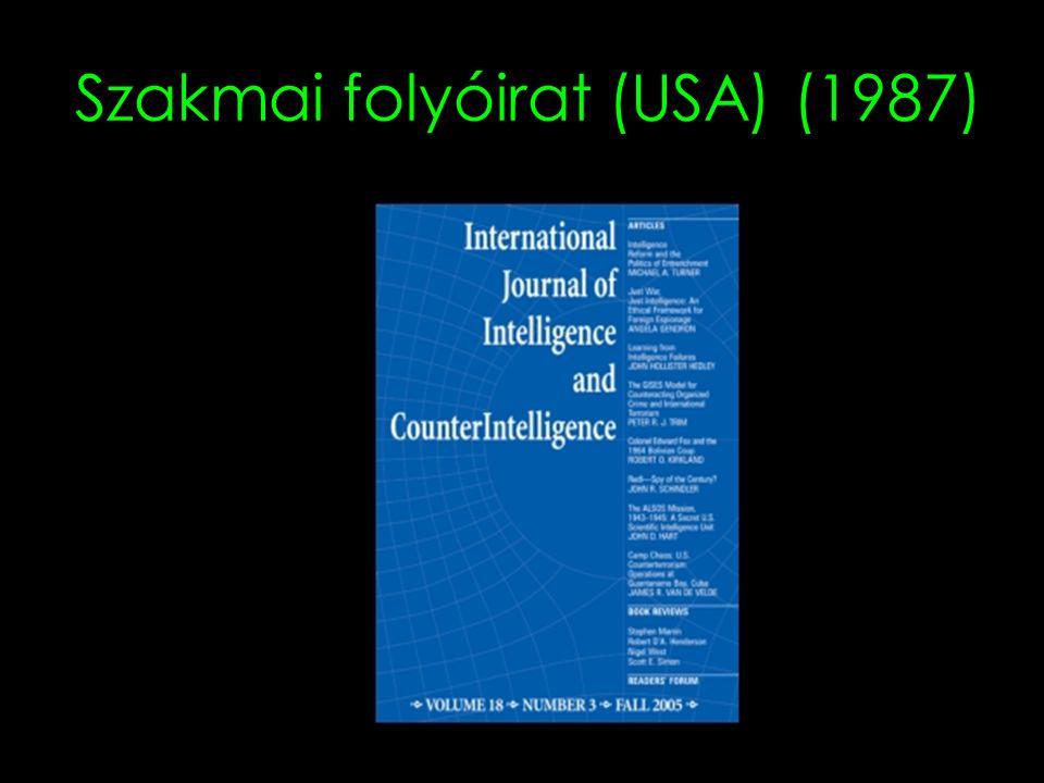 Szakmai folyóirat (USA) (1987)