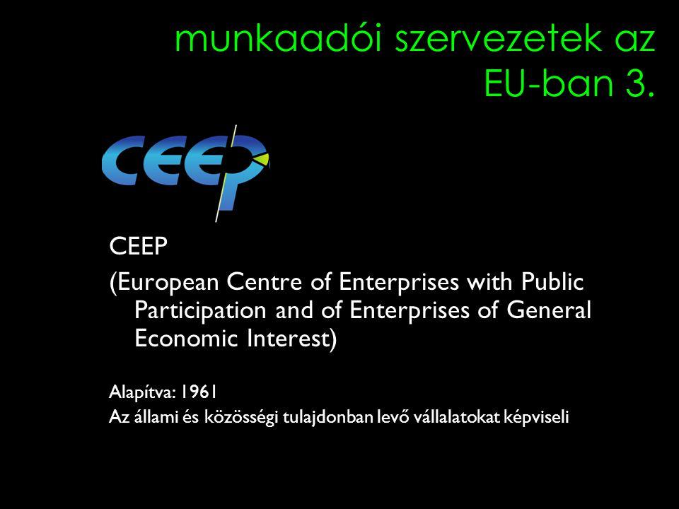 4 munkaadói szervezetek az EU-ban 3.