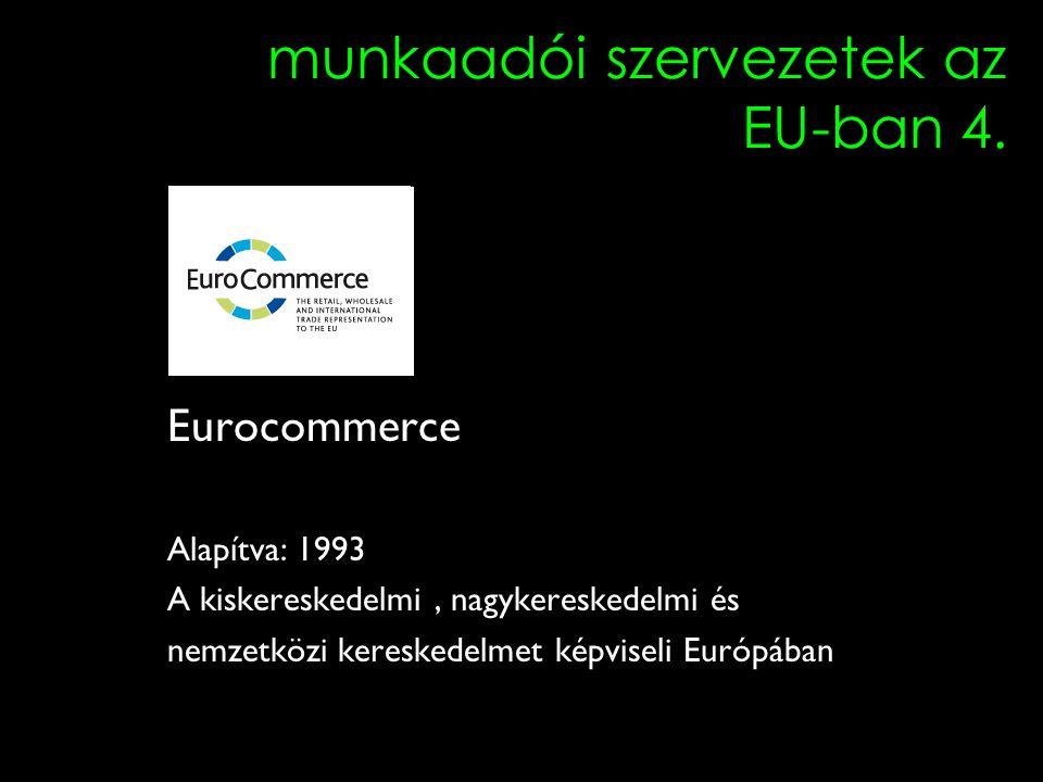 5 munkaadói szervezetek az EU-ban 4.