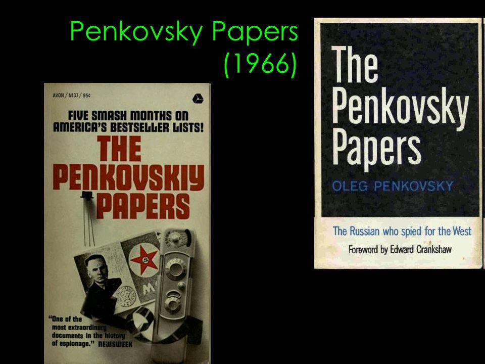 Penkovsky Papers (1966)