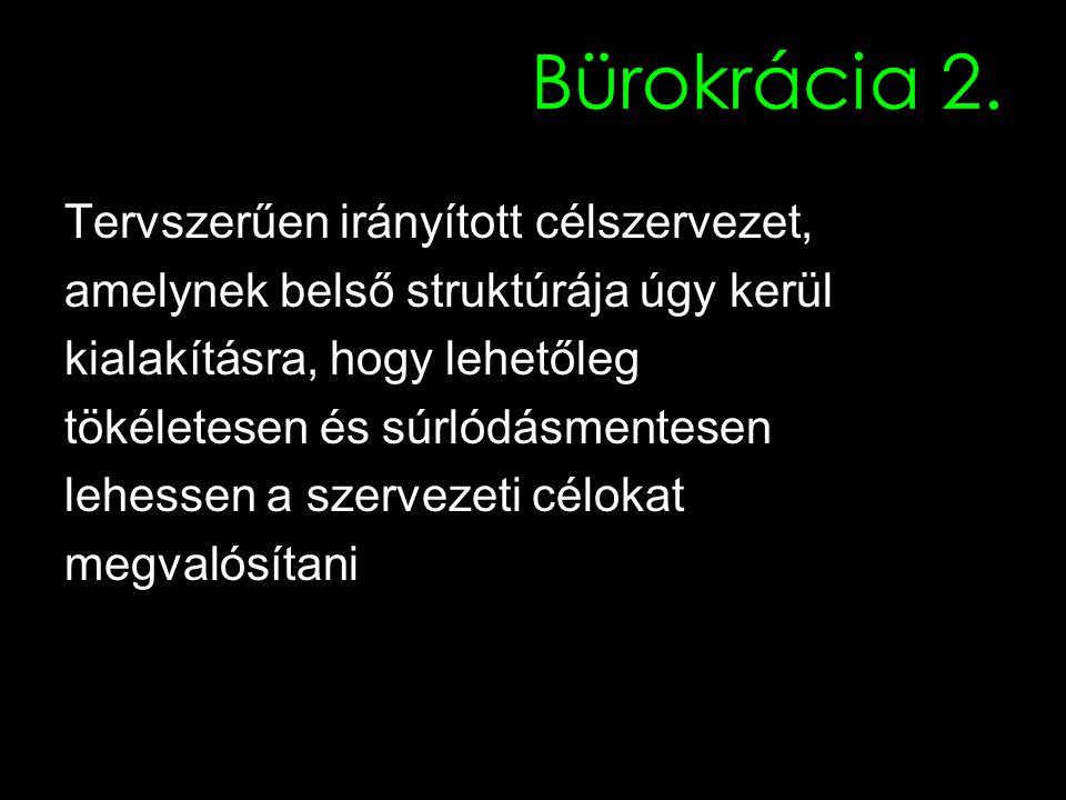 Bürokrácia 2.