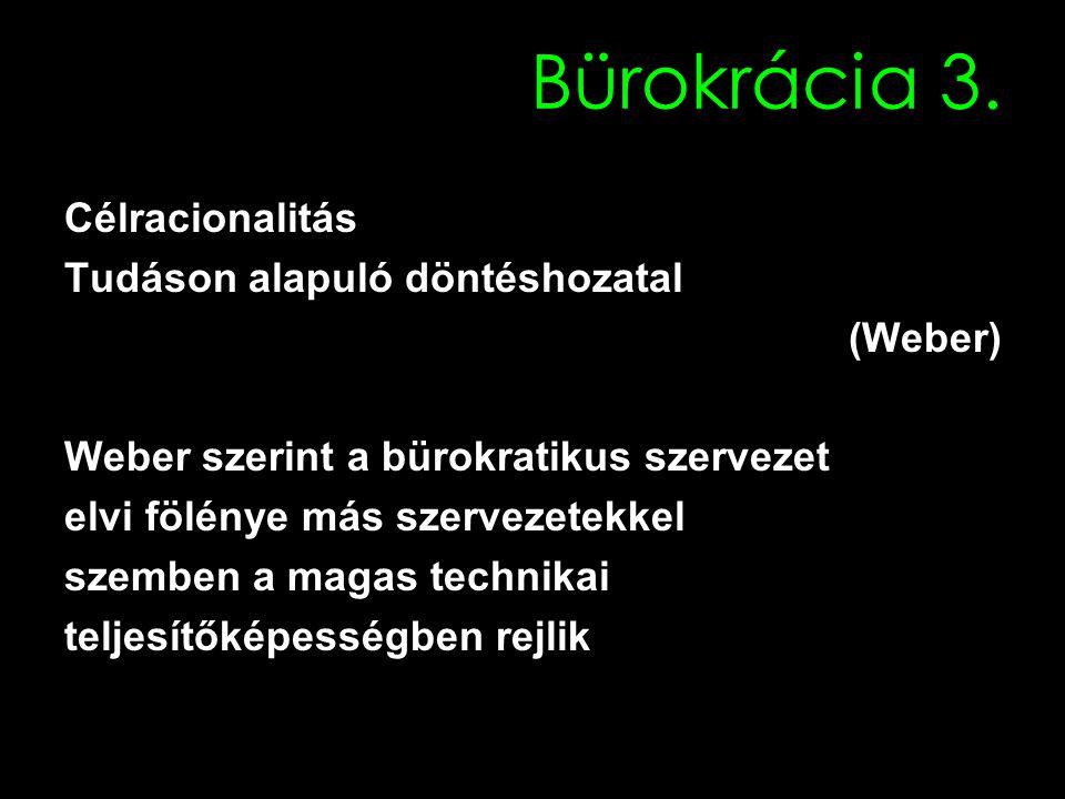 Bürokrácia 3.