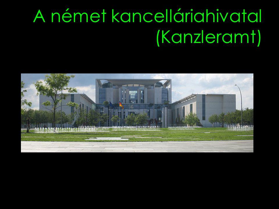 A német kancelláriahivatal (Kanzleramt)