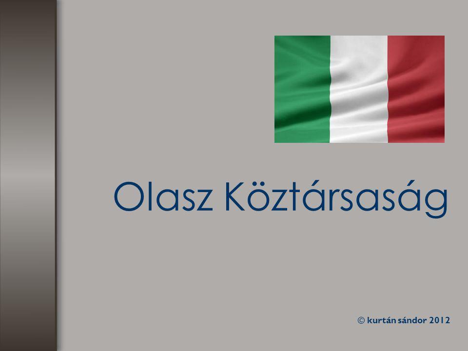Olasz Köztársaság © kurtán sándor 2012