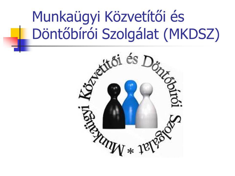 Munkaügyi Közvetítői és Döntőbírói Szolgálat (MKDSZ)