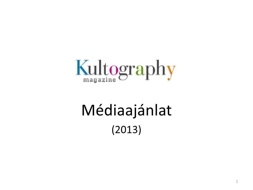 Médiaajánlat (2013) 1