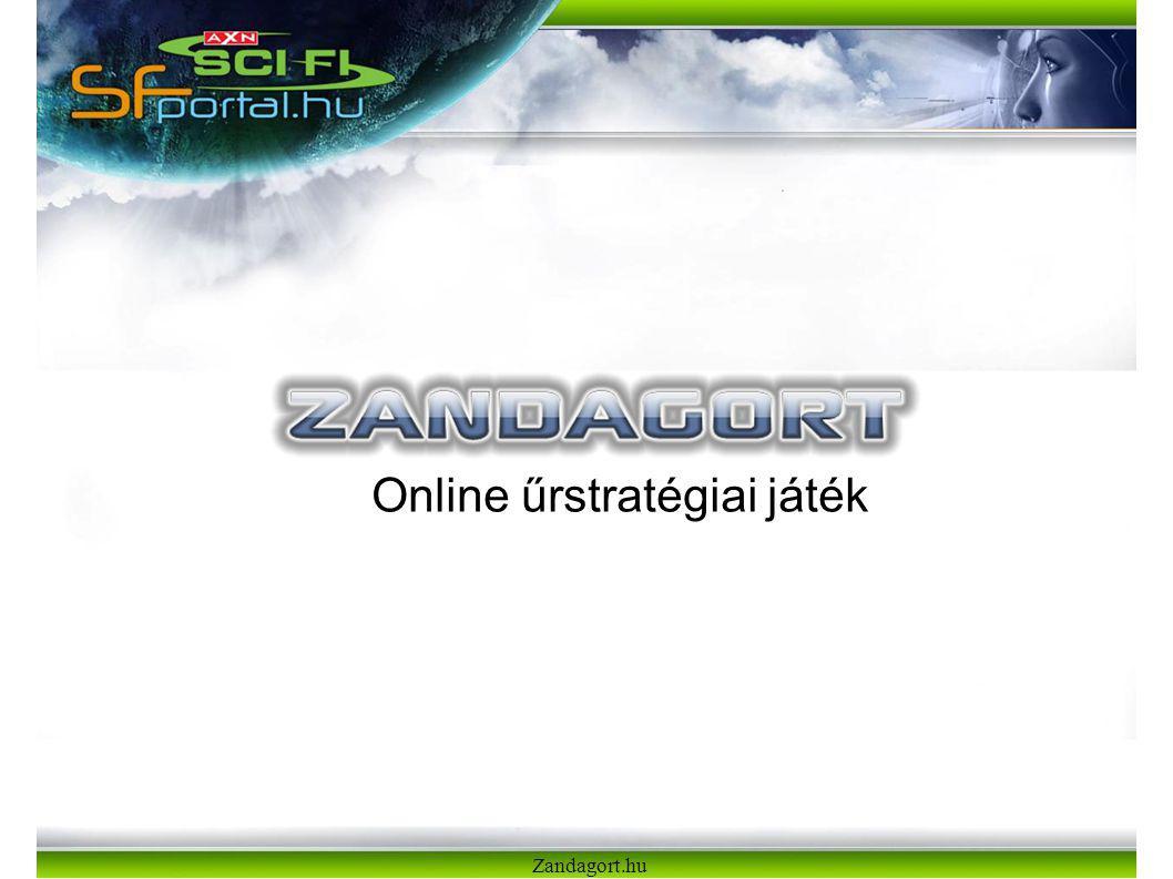 Zandagort.hu Online űrstratégiai játék